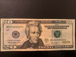 Fancy Serial Number Super Low Serial Number 2013 20 Single Digitandnbsp