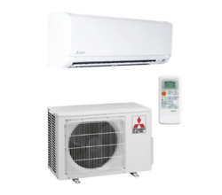 Mitsubishi M-series 12000 Btu Wall Mounted Heating And Cooling Air Conditioning