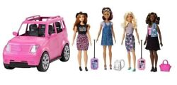 Barbie Girls Road Trip Vehicle 4 Dolls And Accessories