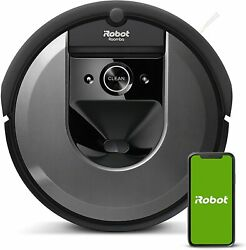Roomba I7 Robot Vacuum- Wi-fi Connected W/base, Smart Mapping, Works With Alexa,