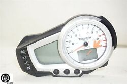 05 06 07 08 09 10 Triumph Speed Triple 1050 Gauge Cluster Speedometer 11k