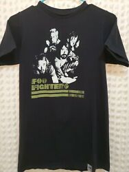 2007 Foo Fighters Echoes, Silence, Patience And Grace Concert Tour Small T-shirt