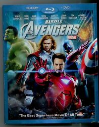 Marvels The Avengers Blu Ray Dvd 2012 Slip Cover Included