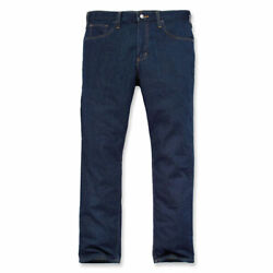 Rugged Flex Straight Fit Tapered Fashionable Denim Jeans Erie Blue