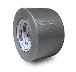 3 X 60 Yds Cloth Duct Tape General– Use 8 Mil 160 Pack Silver| Free Shipping|