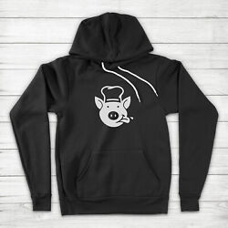 Pig Chef Funny Pork Bbq Grilling Grill Cooking Funny Cook Unisex Hoodie Sweater