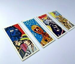 Vintage star Wars trading Card Menko And039 Darth Vader And039 And039 C-3po And039 A Little Stock