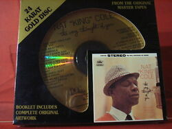 Dcc Gzs-1119 Nat King Cole The Very Thought 24 Kt Gold Compact Disc/sealed