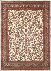Hand-knotted Carpet 8'2 X 11'1 Traditional Vintage Wool Rug