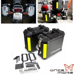 Quick Release Motorcycle Trunk Tool Box Luggage Side Box Universal Left And Right