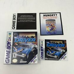 Driver You Are The Wheelman Nintendo Game Boy Color, 2000 Case And Manual Only