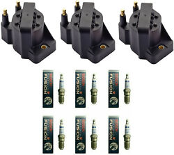 Bosch Platinum Ir Fusion Spark Plug And Engine Ignition Coil Set For Buick Allure
