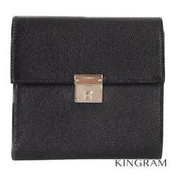 Hermes Click Clic12 Tri-fold Wallet 2018 Made Chevre Misole Wallet From Japan