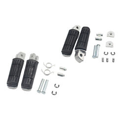 2pcs Motorcycle Foot Pegs Pedals For Yamaha Yzf1000 R1 Fz6r Fz6 Spare Parts