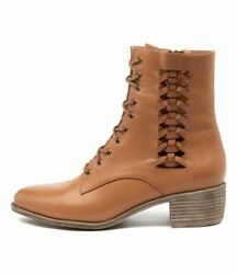 New Top End Jaxsen Scotch Leather Womens Shoes Casual Boots Ankle