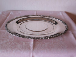 Vintage Oneida Community Henley Small Silver Plated Tray - 9 3/4 In. X 5 3/4 In.