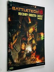 Catalyst Battletech Record Sheets 3055 Upgrade Paperback Rpg Tactical Operations