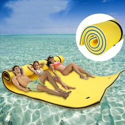 Vilobos 3-layer Floating Water Pad Lake Pool Beach Ocean Sport Relaxing Foam Mat