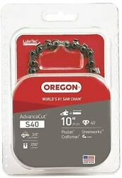 Advancecut Chainsaw Chain For 10-inch Bars Fits Craftsman Poulan 160012