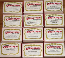 Walthers The Great Circus Train Complete Set 12 Boxes