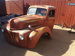 1946 Ford Pick Up Cab And Front Clip A/t 32 34 37 Rat Rod Hot Rod 1946 1947 1948