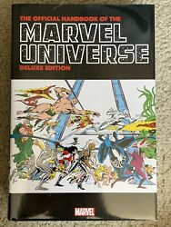 New Sealed Official Handbook Of The Marvel Universe Deluxe Omnibus Dm Variant