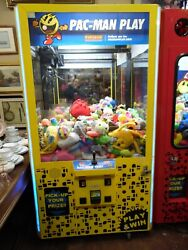 Namco Pac-man Play Arcade Size Claw Machine Game Working Local Pick Up Only