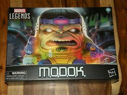 Marvel Legends Deluxe Modok Action Figure Sealed And Mint In Box Mib In Hand