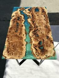 Resin Live Edge Dining And Coffee Tableelmoakwalnutmapleolive Made To Order.