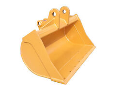 New 48 Case 580se Grading Bucket With Coupler Pins