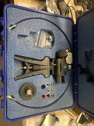 Ge Druck Pv411a Pneumatic / Hydraulic Four-in-one Hand Pump 10,000 Psi