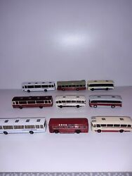Massive Collection Of 90 Efe Busesandcoaches All 1/76 Scale.