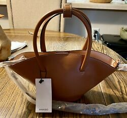 mango bucket purse brown Mango Pale Pink Purse Yes You Get 2 New With Tags $25.00