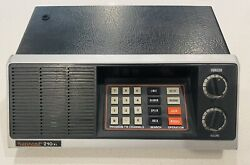 Bearcat 210xl Bc210-1 Scanner Radio Police / Fire / Ham / Weather Vintage