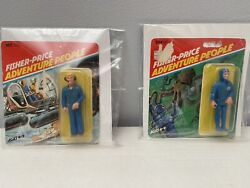 Fisher Price Adventure People 1979 Number 382 And 384 Unopened Package Toys