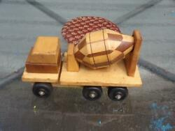 Vintage Handcrafted Toy Cement Truck Wooden By Robert S. Messick Pittsburgh, Pa