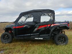 Polaris General 4 1000 Soft Upper Doors And Rear Panel For A Hard Windshield And Top