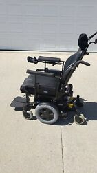 Invacare Wheelchair Tdx Sp-- Best Deal-- Powered And W/ Tilt And Digital Display