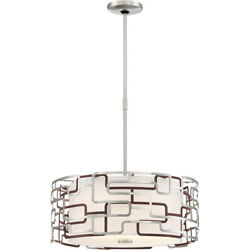 George Kovacs P1427-674-l Aleciaand039s Tiers Pendant Brushed Nickel And Bronze Patina