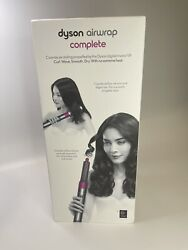 Dyson Airwrap Complete Styler Multiple Hair Types And Styles Fuchsia/nickel New