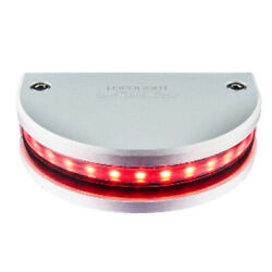 Lopolight Red 180anddeg Navigation Light - 3nm Vertical Mount - 0.7m Cable