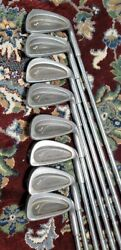 Wilson Tour Prestige 3-4-5-6-7-8-9-p Iron Set W/ 3and5 Wood Driver Only Today 109