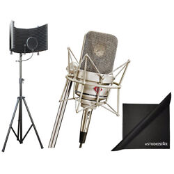 Neumann Tlm-49 Cardioid Condenser Microphone Axcessables Recording Isolation Kit