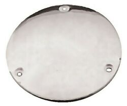 Chrome Smooth Derby Cover For Harley Big Twin Evo 84-98 And Shovelhead 70-84