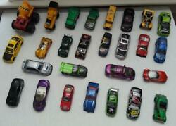 Hot Wheels Matchbox Lot Of 27 Loose Die Cast Cars And Trucks 80s 90s 2000s 2010s