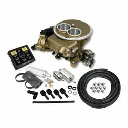 Sniper 550-851k Efi 2300 Two-barrel Fuel Injection System Gold Throttle Body New