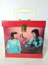 Donny And Marie Osmond 45 Record Case Osbro Productions Inc. 1977