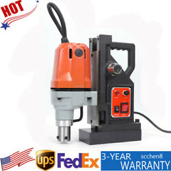 1-1/2 Magnetic Drill Press High-speed Magnet Force Drilling Device 700lbs 110v