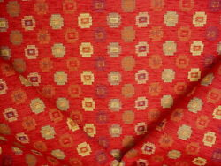 16y Kravet 21024 Canyon Red Copper Gold Southwest Ikat Upholstery Fabric