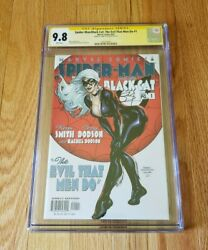 Spider-man Black Cat The Evil That Men Do 1 Cgc 9.8 Ss Terry Dodson Signed 2002